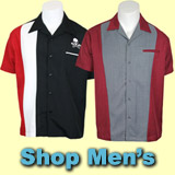 Retro, Rockabilly And Bowling Shirts For Men