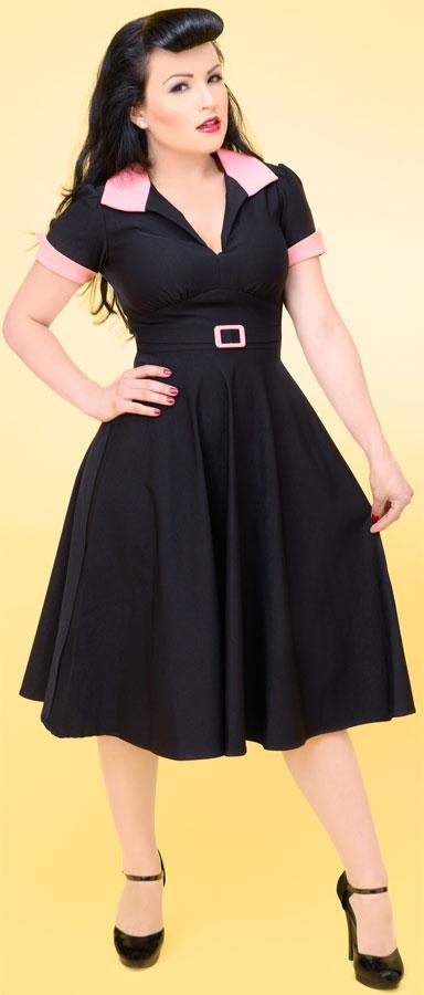 Платье в стиле Стиляг - фото (платья 50-х годов фото.